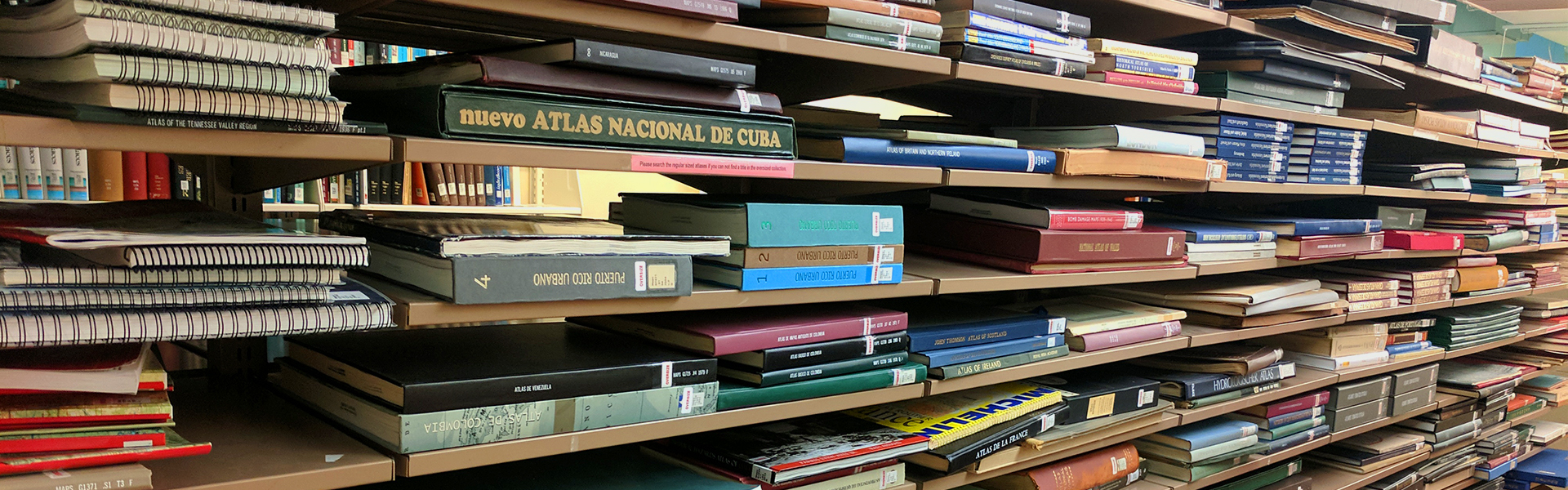 Maps Library Books