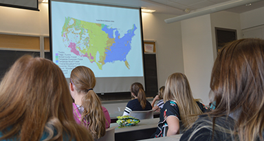sywig day girls learn about physical geography